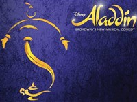 Aladdin at the Prince Edward Theatre London