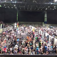 Film and Comic con at the Sheffield Arena