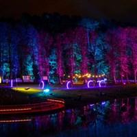 Edinburgh and the Illuminite Festival.
