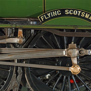 A journey with the iconic Flying Scotsman